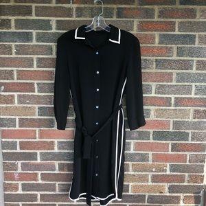 Ann Taylor Black Business Dress. Size S